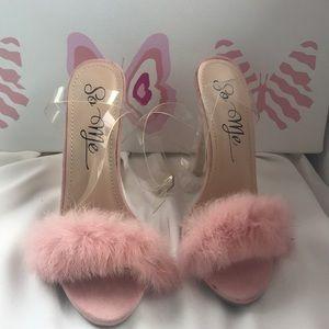 Pinky heels💖✨